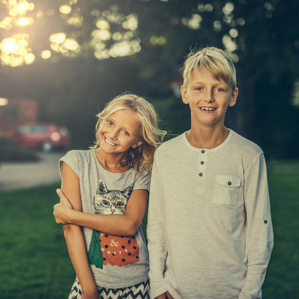 siblings, brother, sister
